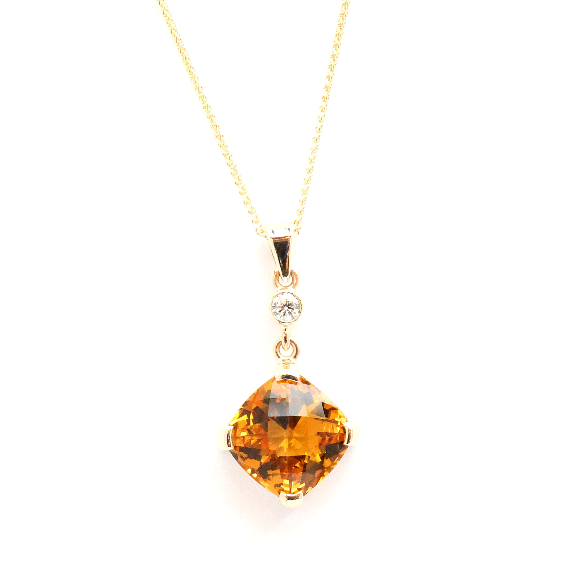 citrine grady ammonite product michele designs and pendant necklace