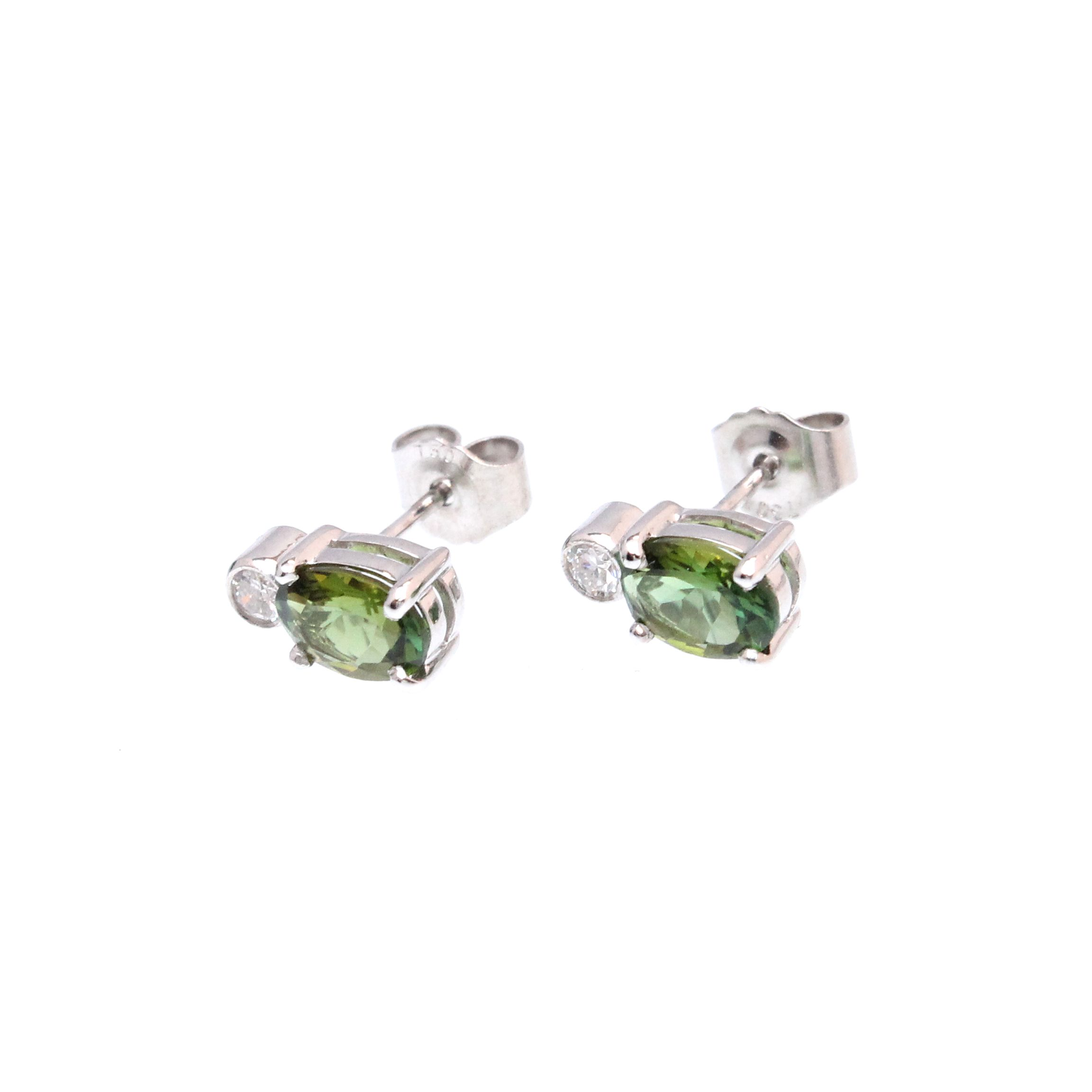earrings pave charles diamond son studs schwartz jewellery stud atlantico shop jewelry