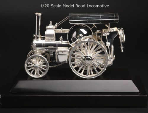 Sterling Silver Hand Made Model Military Vehicle
